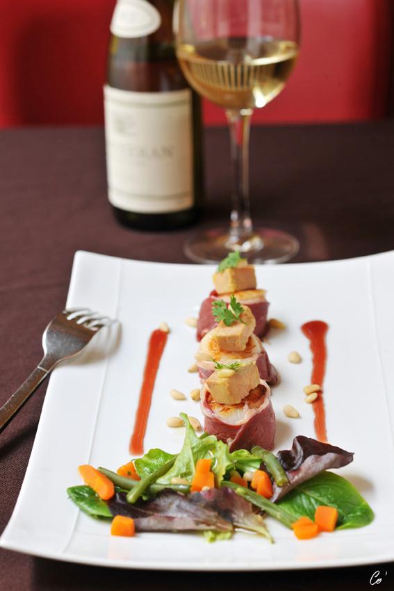 Restaurant Chapon d'or à bourg en bresse